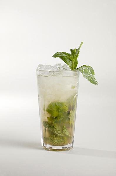 Míchaný alkoholický nápoj s absintem – Mořské řasy