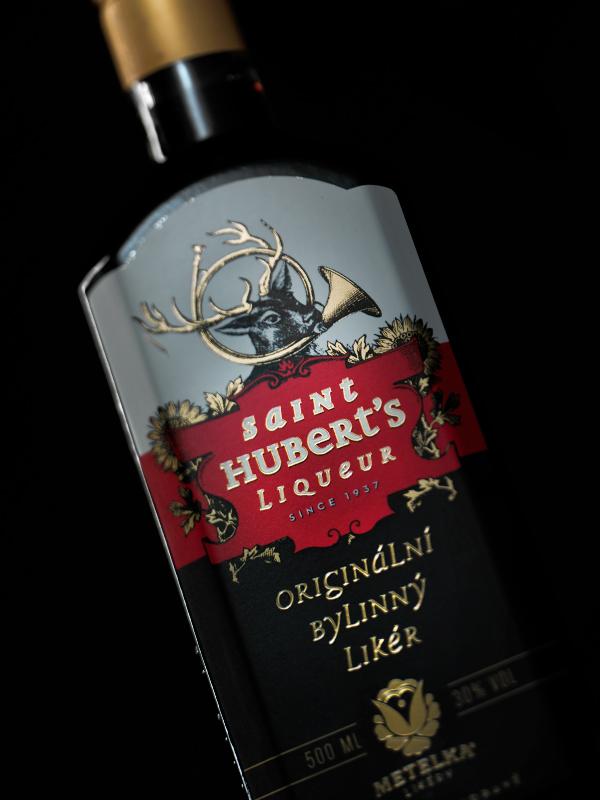 Saint Hubert's Liqueur 0,5 L – Bylinné likéry Metelka