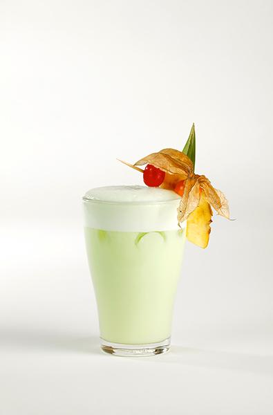 Míchané alkoholické nápoje, recepty s mátovým likérem – Zelená vlna