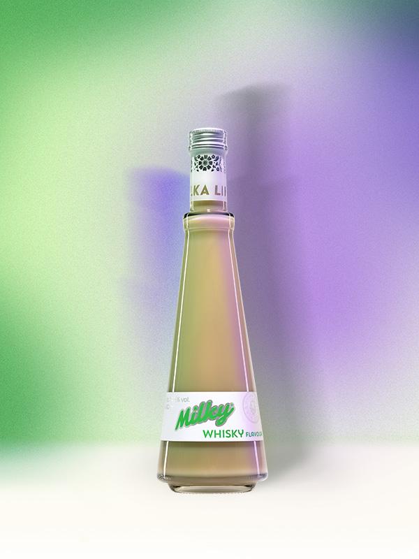 Mléčný Milky Whisky Flavour – Metelka Likéry