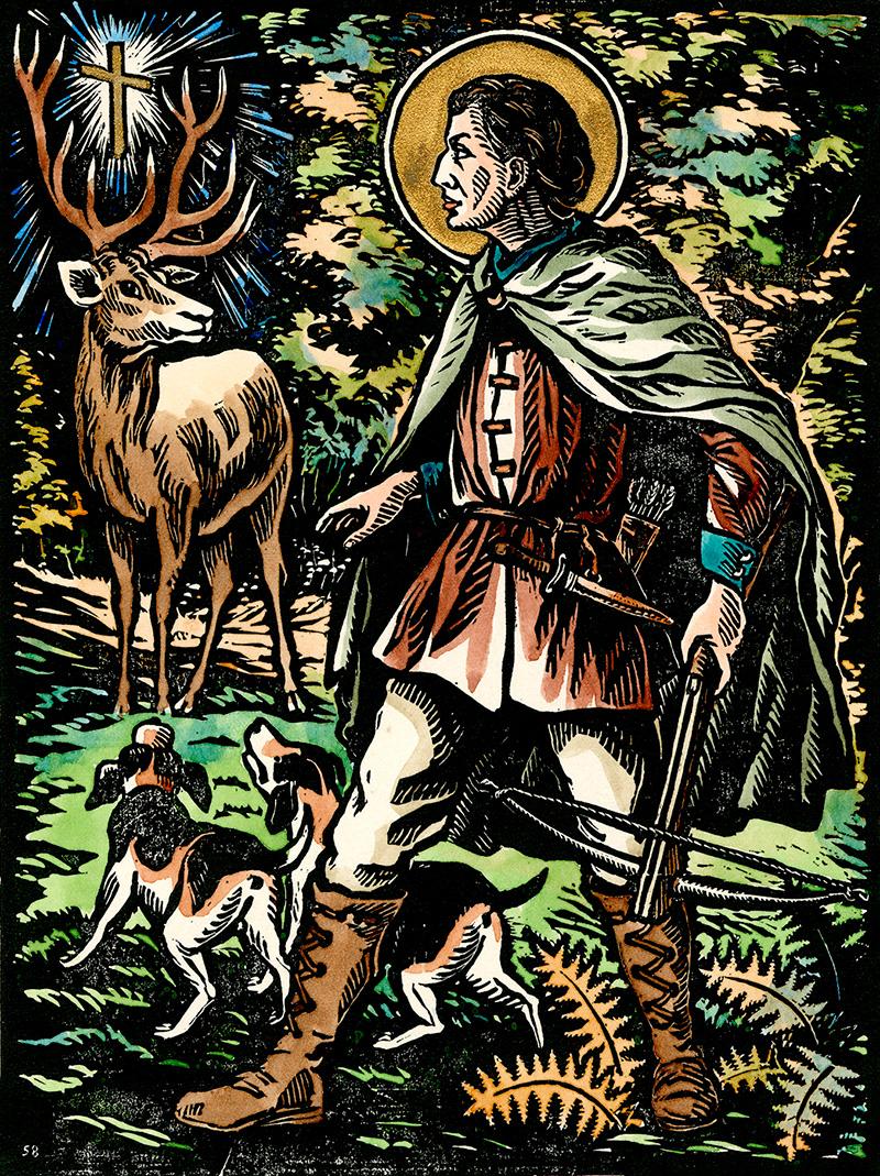 Legenda o svatém Hubertu