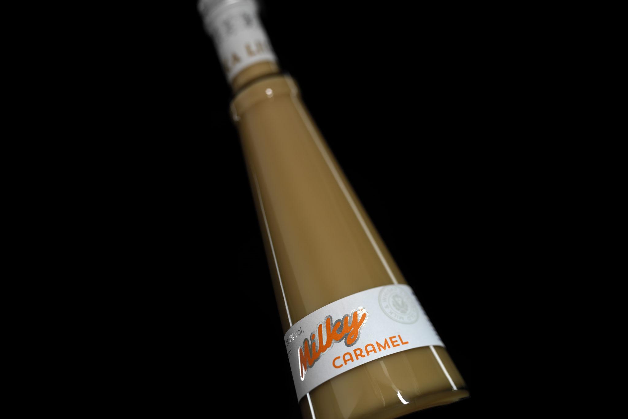 Karamelový Milky Caramel od výrobce Metelka likéry