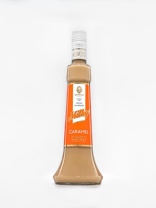 Karamelový alkoholický nápoj – Milky Caramel 0,5 L