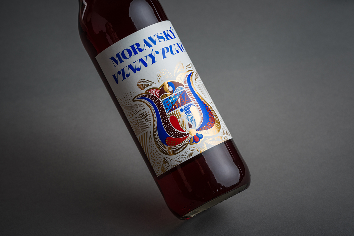 Vinný punč červený