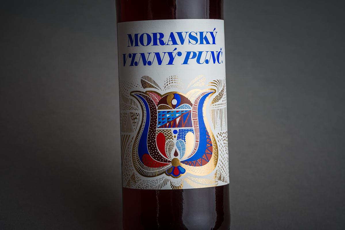 Vinný punč červený s vínem z jižní Moravy
