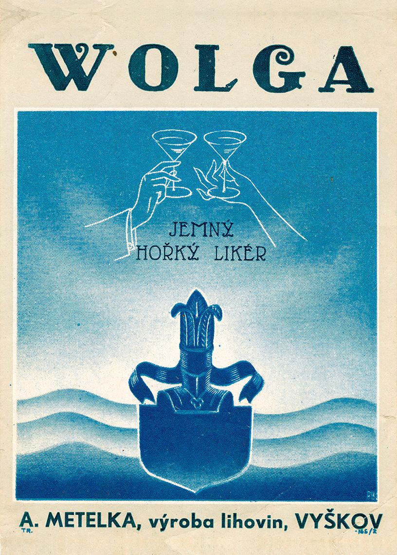 Wolga – jemný hořký likér
