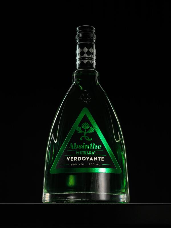 Absinthe Metelka Verdoyante 0,5 L – lahodný zelený absinth