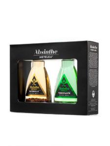 Dárkový alkohol – Absinthe Metelka Naturelle a Verdoyante