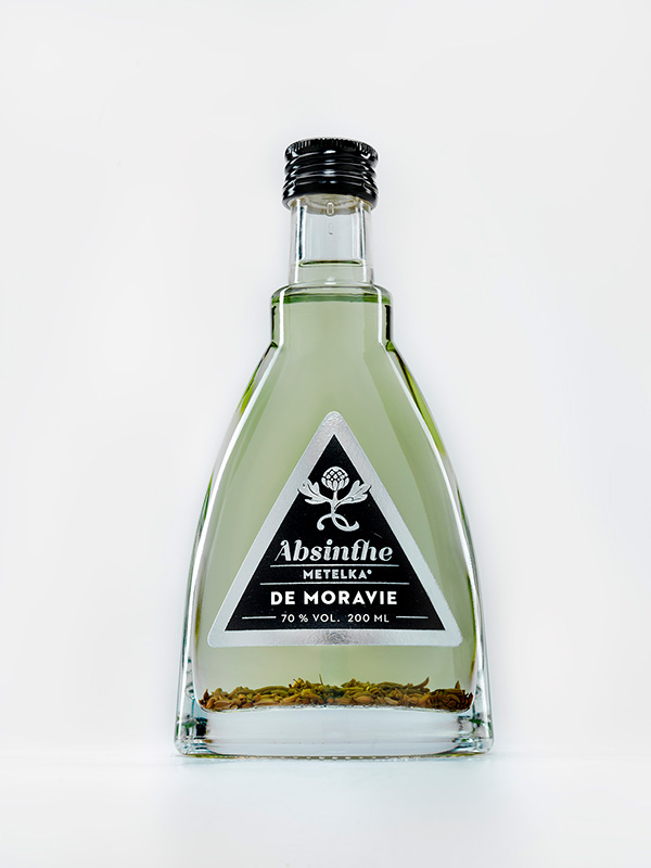 Poznejte, co je absint – Absinthe de Moravie 200 ML