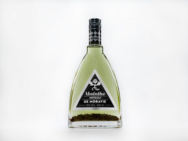 Absint se 70 % alkoholu – Absinthe de Moravie 0,5 L
