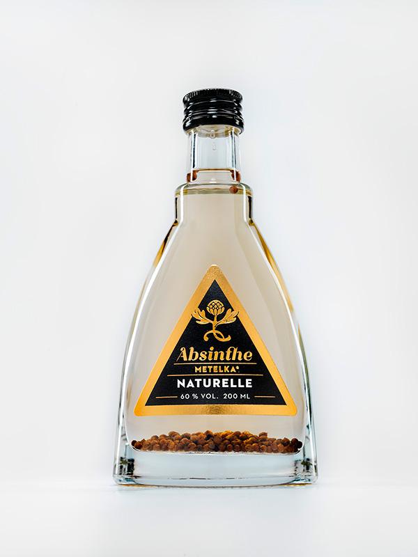 Luxusní alkohol  – Absinthe Naturelle 200 ML