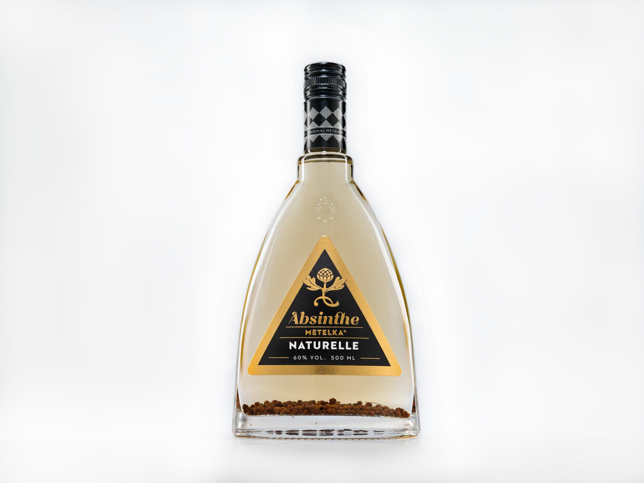 Absinth prémiové kvality – Absinthe Naturelle 0,5 L