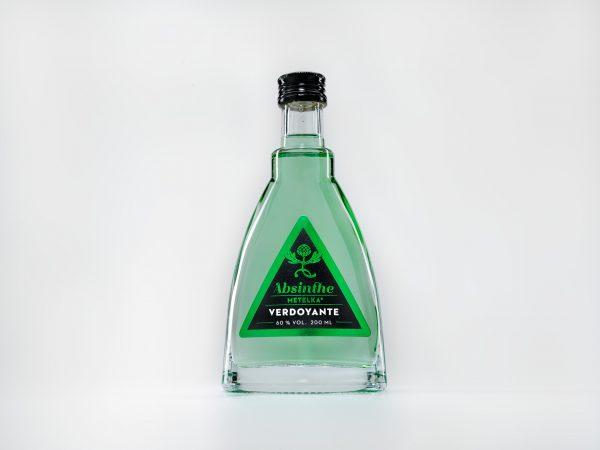 Absint za příznivou cenu – Absinthe Metelka Verdoyante 200 ML