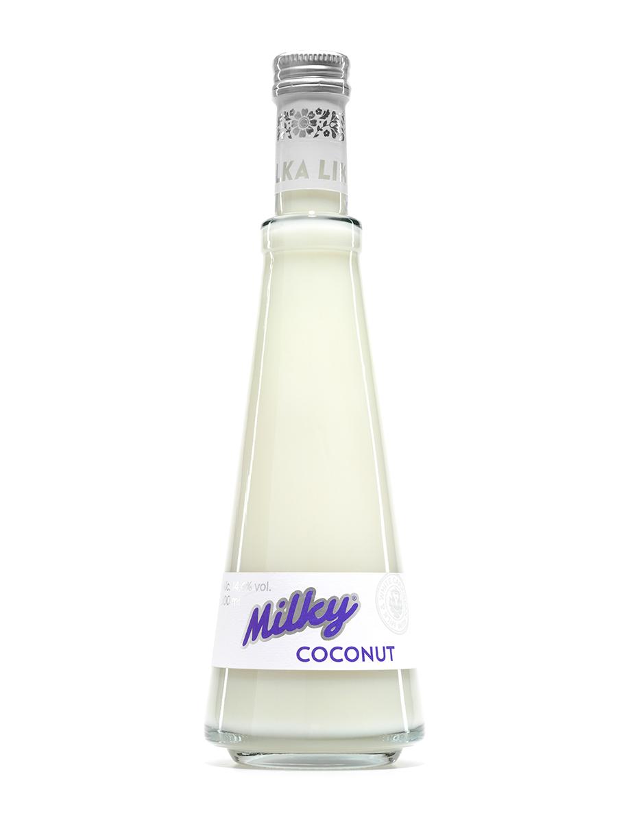 Kokosový alkoholický nápoj – Milky Coconut 0,5 L