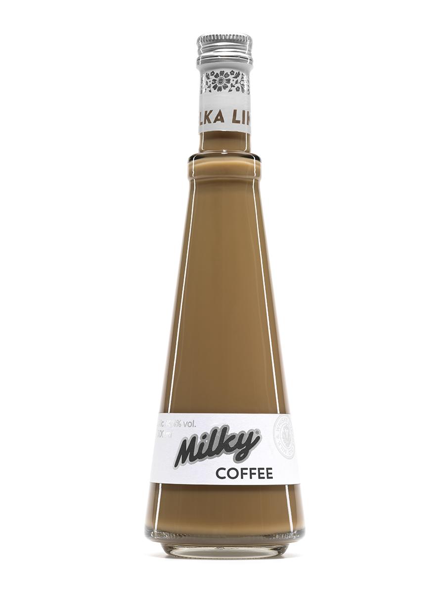 Kávový alkoholický nápoj – Milky Coffee 0,5 L