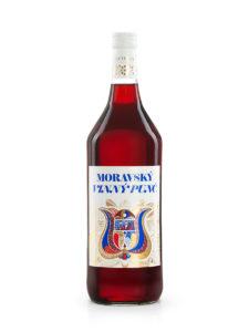 Vinný punč červený od likérky Metelka 1 L