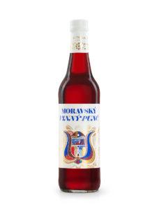 Vinný punč červený od likérky Metelka 0,5 L