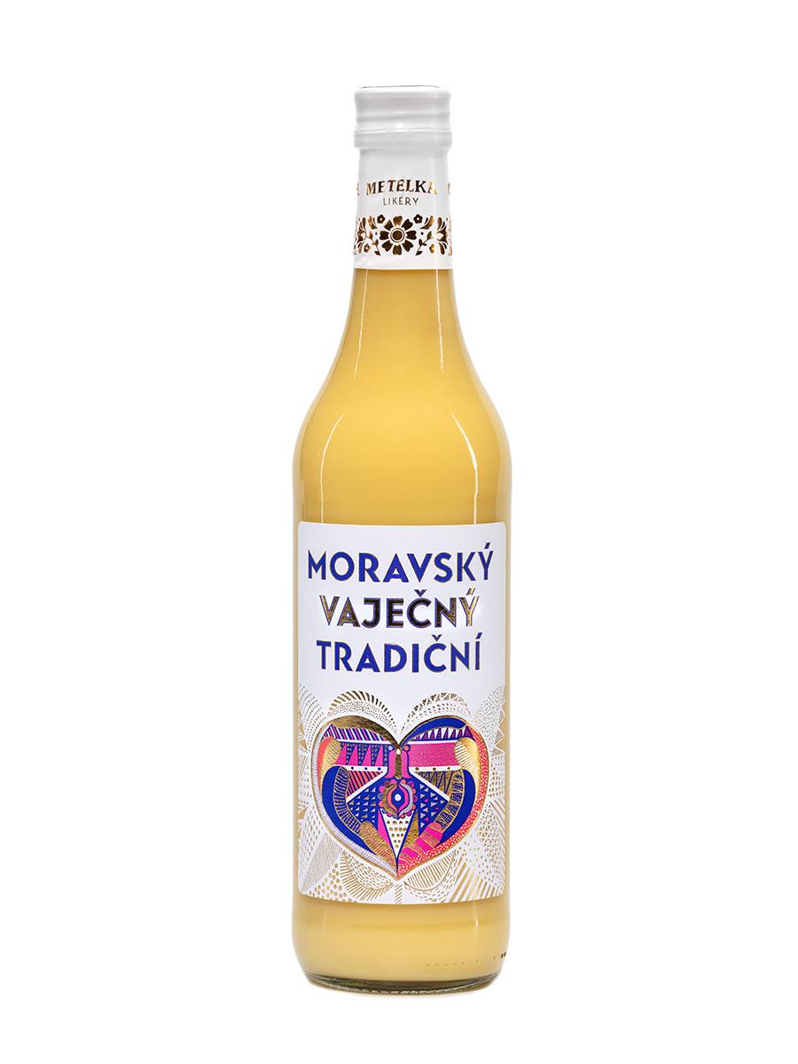 Moravský Vaječný Tradiční 0,5 L od výrobce Metelka likéry