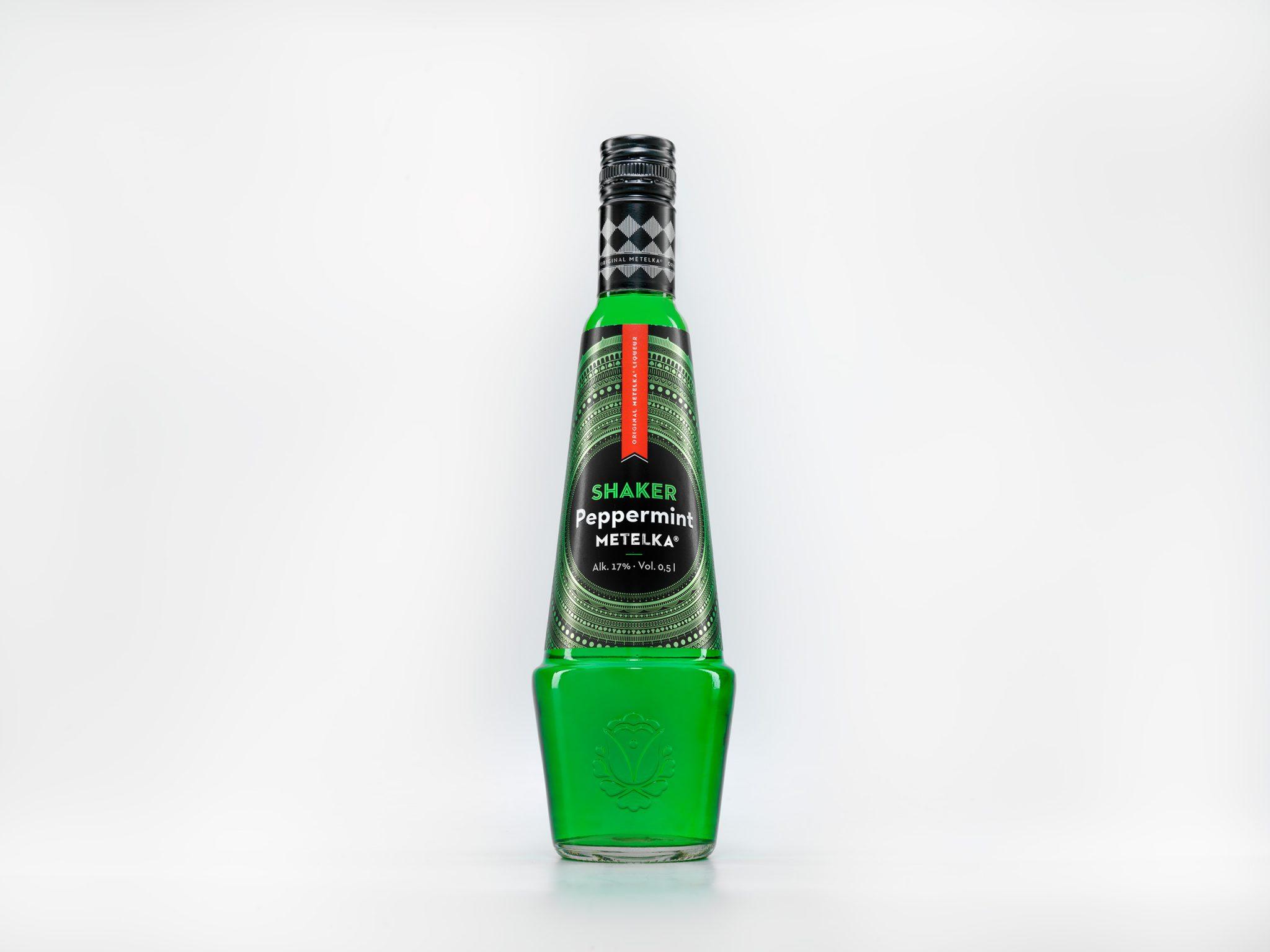 Mátový likér – Shaker Peppermint 0,5 L