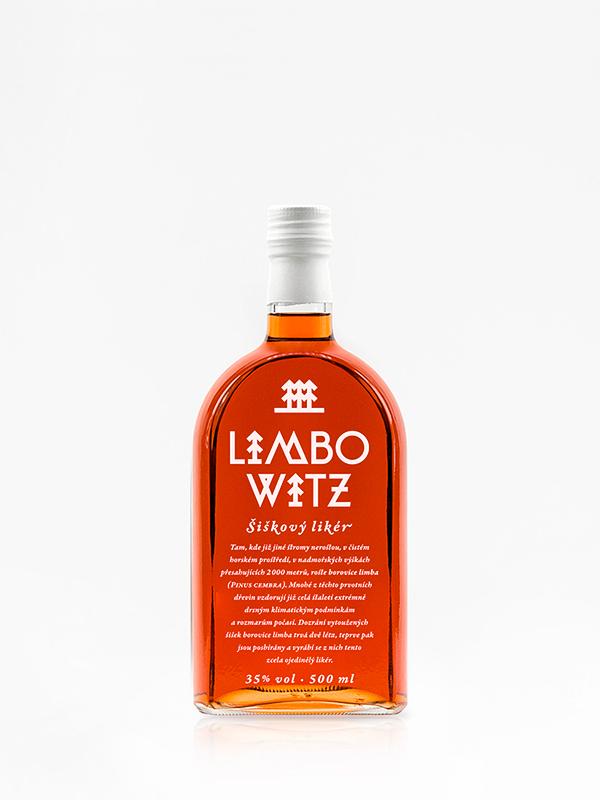 Limbovice – šiškový likér Limbowitz 0,5 L