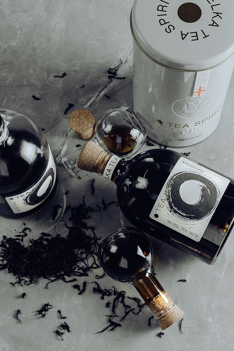 Likér Tea Spirit s gruzínským čajem