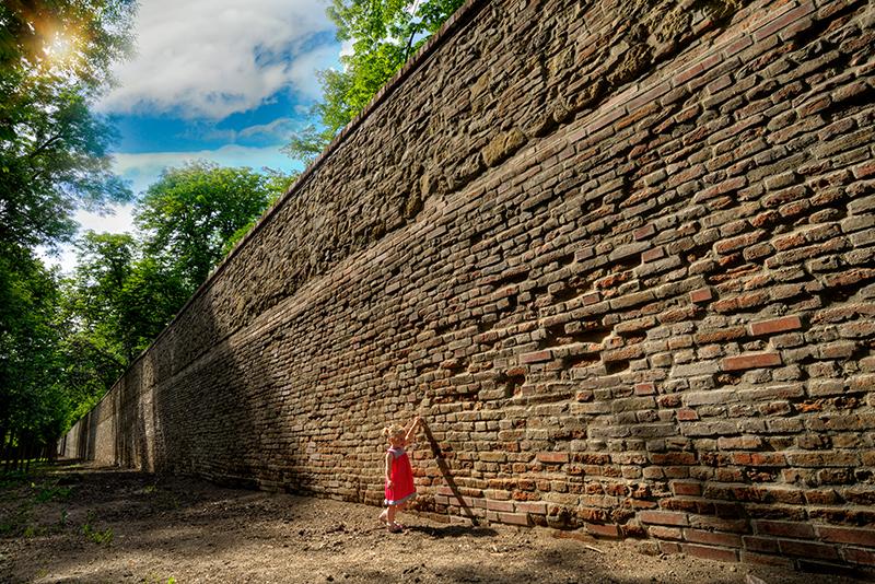 Městské hradby Slavkov u Brna