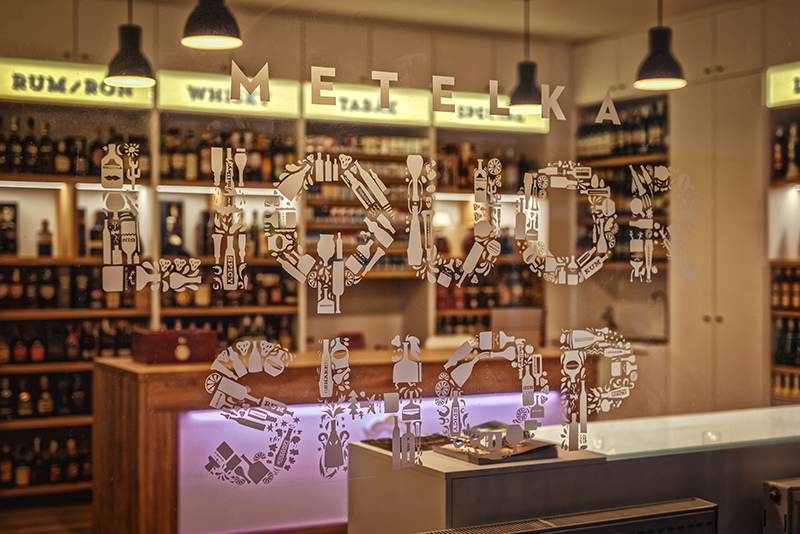Metelka Liquor Shop, prodej alkoholu Vyškov